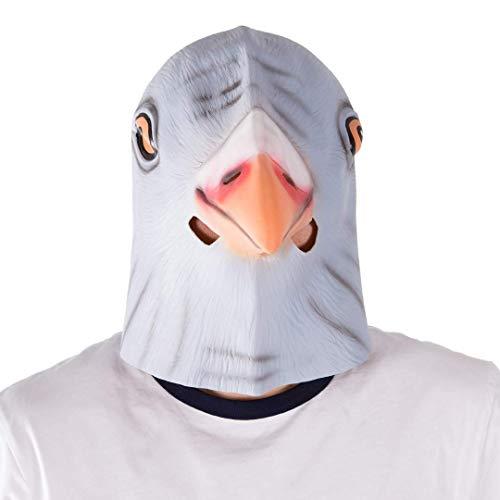 Bodysocks - Latex Gummi Taube Tier Halloween Kostüm Maske