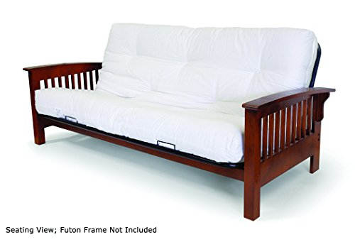 Artiva USA Home Deluxe 8-Inch Futon Sofa Mattress with Inner Spring Made in US for Long-Lasting Use,...