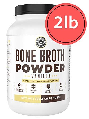 Bone Broth Protein Powder, Vanilla, Grass Fed