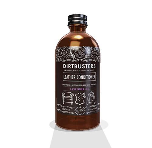 Dirtbusters d'huile Essentielle de Lavande Cuir Après-shampoing 500 ML Solide Trade Formule mais PH Neutre