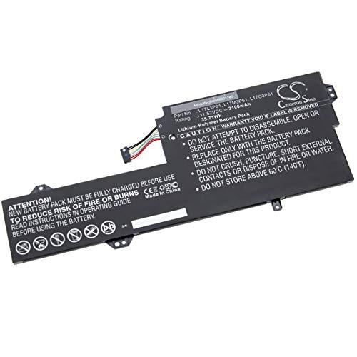 vhbw Batería Compatible con Lenovo Yoga 330-11IGM, 520 12, 520-12, 720-12, 720-12IKB Notebook (3100mAh 11.52V polímero de Litio Negro)