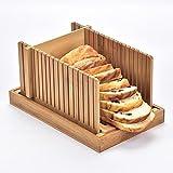 Nature Bamboo - Rebanada de pan, foladable, compacta guía de...