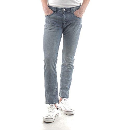 Armani Exchange Jeans Uomo Denim 5 Tasche 8NZJ13 Z883Z Slim Blu 28