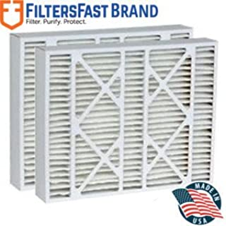Filters Fast Compatible Replacement for Goodman FS1625 MERV 11 Air Filter 2-Pack-16x25x5 (Actual Size: 15-3/8