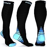Compression Socks for Men & Women, BEST Graduated Athletic Fit for Running, Nurses, Shin Splints, Flight...