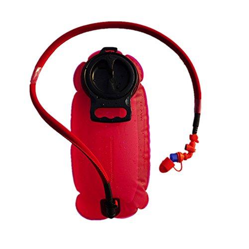 XINXI-MAO Herramientas de Camping Bolsa de Agua para protección del Medio Ambiente Bolsa de Agua para Deportes al Aire Libre para Viajes 2.5L Bolsa de Agua Plegable Bolsa de hidratación para Montar
