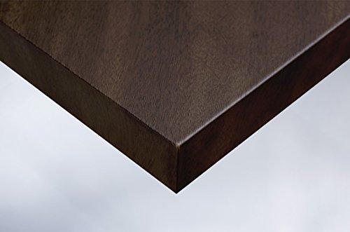 Cover Styl 20,16€/m² Premium Klebe Folie Holz Optik A1 - DUNKLE WENGE Deko Möbelfolie selbstklebend Struktur 122cm Breite