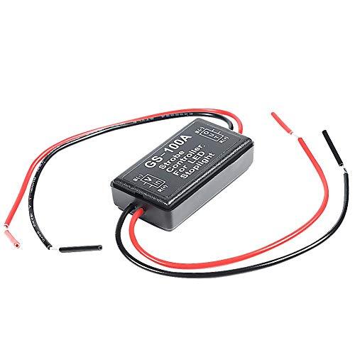 Ahomi GS-100A LED Bremslicht Strobe Flash Modul Controller Box für Auto 12V