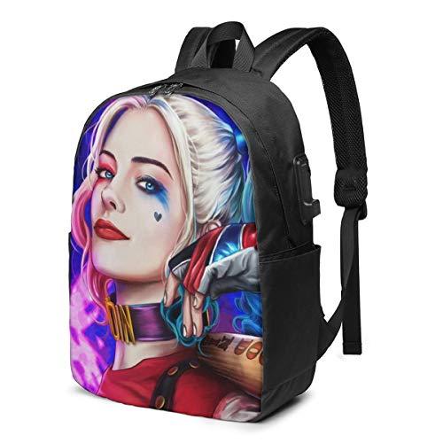 414k5Cc4wVL Harley Quinn Backpacks for School