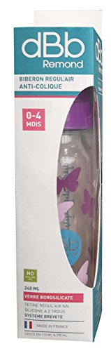 dBb Remond Vlinders Fles in Doos, 8 oz, Violet