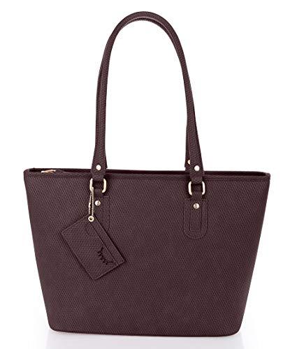 Sansibar-Damen Shopper Bag A4 38x29x13-blackberry