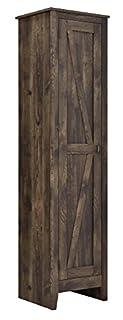 "Ameriwood Home Farmington Wide Storage Cabinet, 18"", Rustic (B077BFWLMC) | Amazon price tracker / tracking, Amazon price history charts, Amazon price watches, Amazon price drop alerts"
