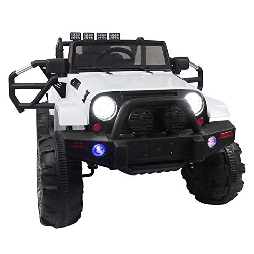 Lowest Price! Ningchuancui 12V Kids Ride On Car SUV MP3 Music Player Battery Operated RC with USB,SD...