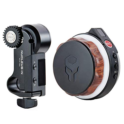 Tiltamax Nucleus-Nano: Wireless Lens Control System — Wirelessly Control The Focus of Most DSLR, Mirrorless, or Cine-Style Lenses on Cage, Gimbal Such As Ronin S
