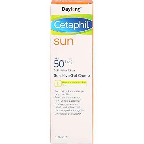 Cetaphil Sun Daylong Sensitive Gel-Creme SPF 50+, 100 ml Gel