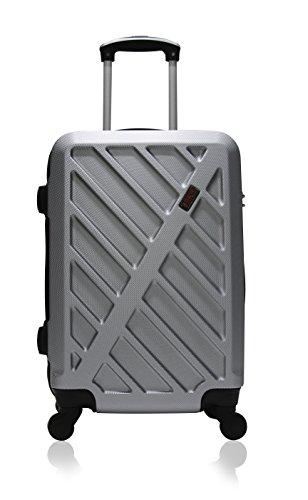 Hero Hierro koffer, 66 cm, 60 liter, grijs (gris)