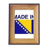 ボスニアヘルツェゴビナの国で作られた フォトフレーム、デスクトップ、木製