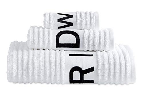 DKNY Chatter100% Cotton Bath Towel, 27W x 54L, White