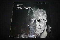 Hélène Martin chante Jean Giono LP 33T 12