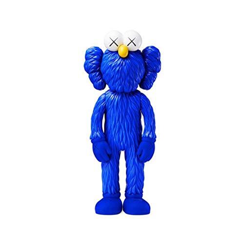 Wild KW KAWS Rue Sésame Figurine Mannequin Toy Tendance...