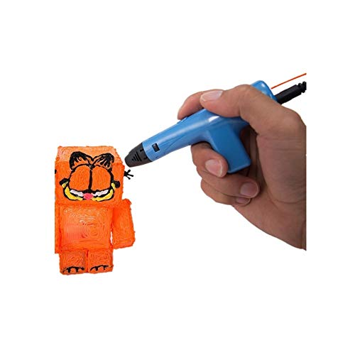 Printing Pen 3d Smart Low Temperature Security Printing Children Graffiti Interesting Gifts for All Age (Color : Blue)