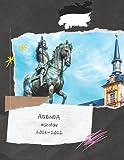Agenda ESCOLAR 2021-2022: Agenda 2021-2022 Madrid españa, europa, ciudad, club de fútbol o balonmano, baloncesto etc ... diario escolar 2021-2022 ... cuaderno de notas  Una semana en dos páginas