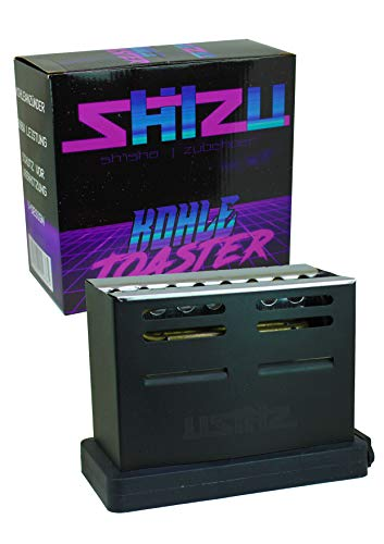ShiZu Shisha Kohle Toaster | elektrischer Anzünder für Naturkohle, BBQ Kohle, etc. | 800W