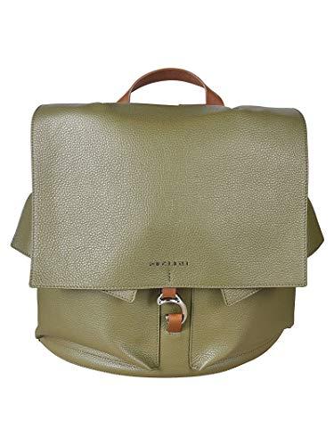 Orciani Luxury Fashion Damen B02078MICRONGREEN Grün Leder Rucksack | Frühling Sommer 20