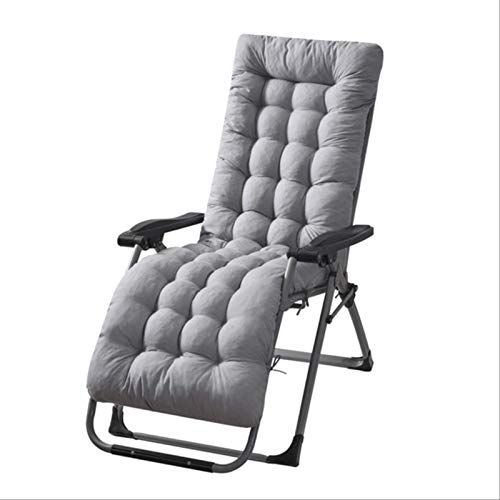 MTYQE Sun Lounger Chair Cushions Patio Outdoor Mattress Indoor/outdoor All Weather Bench Cushion Cushions Sundlight Patio Cushions Garden Recliner Chaise Chair Rocking With Ties