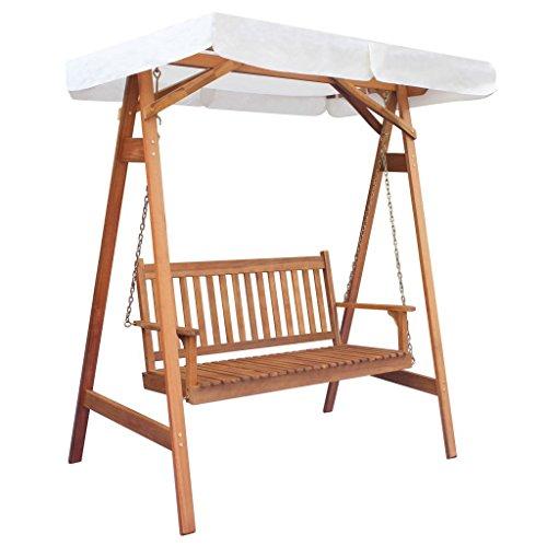 Tuin schommelstoel met luifel eucalyptus acaciahout