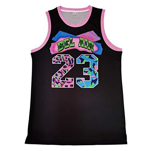 ZEH Bel Air Academy Nº 23 - Camiseta de baloncesto (color: azul, talla: S), color azul