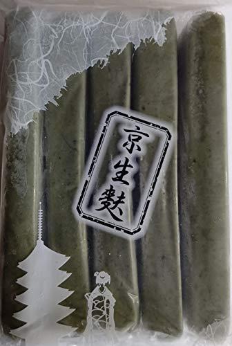 京生麩 無添加 よもぎ麩 1P(5本) 本約W4cm×H2.5cm×L20cm 蓬麩 業務用 冷凍