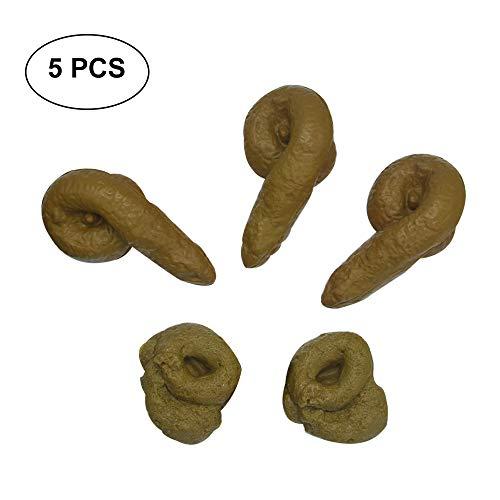Realistic Prank Funny Poop Toys for Joke Trick Halloween April Fool