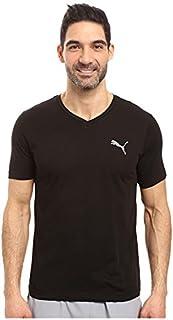 (プーマ) PUMA メンズTシャツ Iconic V-Neck Tee PUMA Black MD M [並行輸入品]