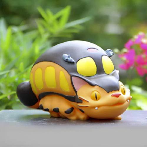 Totoro BusMoney BoxAnime Action Figures Piggy Bank Kids Toys