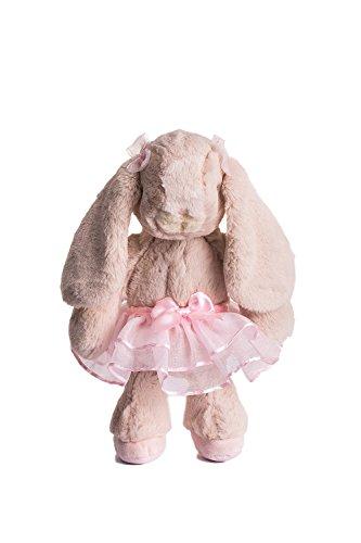 Dilly dudu Ballerina/Ballet Bunny Plush Toy Stuffed Animal Rabbit Doll Best Gifts 10-inch(Pink)