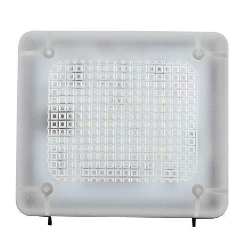 Cosiki Luz Nocturna de 3.1x2.7x2.5in, Enchufe de EE. UU. 100-240V con Fuente de alimentación Simulador de televisión LED de Mano de Obra Exquisita de plástico, hogar para Jardines