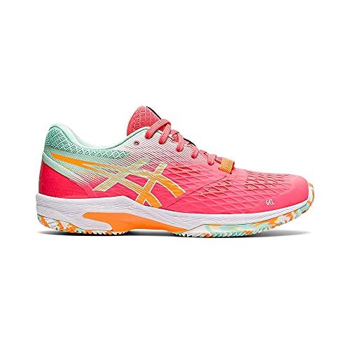 ASICS Padel Lima FF, Zapatos de Tenis Mujer, Blazing Coral Orange Pop, 35.5 EU
