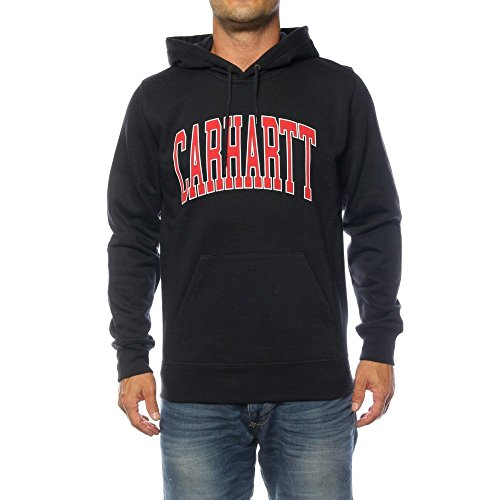 Sweat à Capuche Carhartt WIP Hooded Division Pour Homme - Bleu Marine - Small