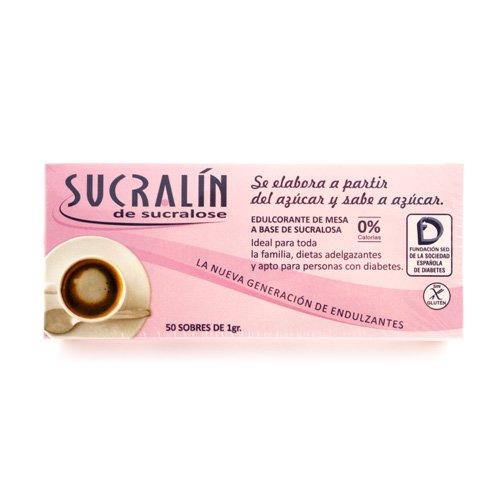 Sucralin Sucralin Sachettes 1G 50 Unidades - 1 Unidad