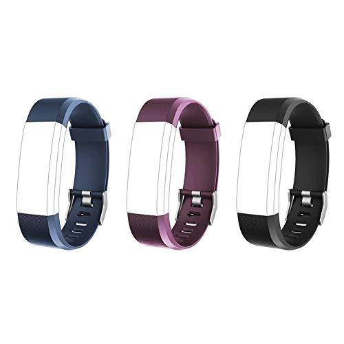 Best Buy! Lintelek Replacement Bands for Fitness Tracker ID115Plus HR, ID115Pro, Interchangeable Adj...
