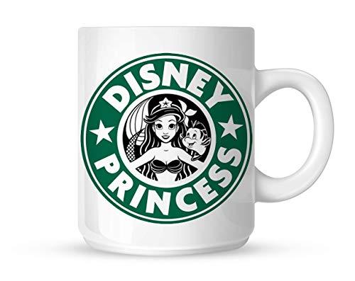 Ariel Starbuck Disney Princess Kaffeetasse, benutzerdefinierte Tasse, personalisierte Fototasse, einzigartiges Geschenk