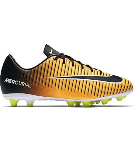 Nike Jr Mercurial Victory VI AG-PRO–Scarpe da Calcetto, Unisex Bambini, Arancione–(Laser Orange/Black-White-Volt)