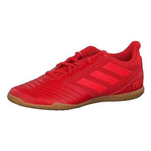 adidas Herren Predator 19.4 In Sala Fußballschuhe, Mehrfarbig (Rojact/Rojsol/Negbás 000), 44 2/3 EU