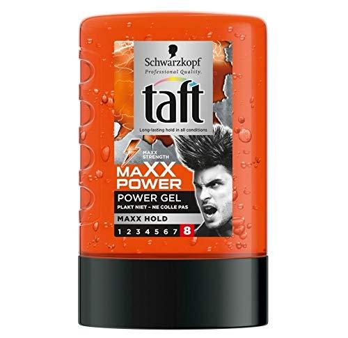 Schwarzkopf Taft - Maxx Power - Haar Styling Gel - 6er Pack (6 x 300ml)