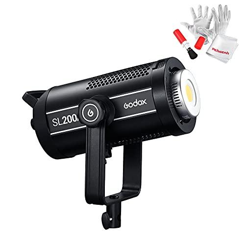 【Godox正規代理店】GODOX SL200WII ledビデオライト 200W撮影定常光 SL200W IIスタジオ照明 ボーエンズマ...