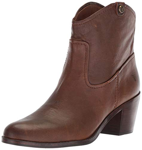 FRYE Damen Jolene Pull On Short modischer Stiefel, braun, 38.5 EU