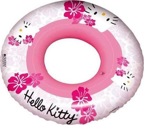 TrendyMaker Hello Kitty Schwimmreifen, Schwimmreif, Schwimmring 50 cm Durchmesser