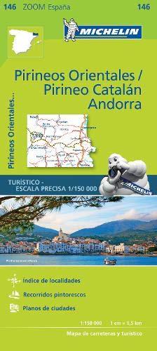 Pirineos Orientales, Pirineo Catalán, Andorra (Michelin Zoom Maps)