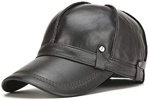 Honkbalmuts volwassenen hoed mannen warme honkbalmuts mannelijk winter outdoor gehoorbescherming muts hoed, zonwering groot vizier katoen zonnehoed, hoofddeksel ademende outdoor sport fiets